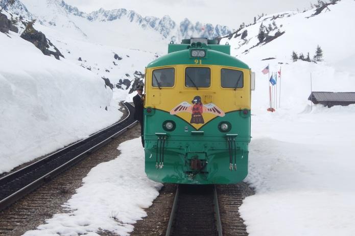 Alaska: White Pass Railway © Wolfgang Stoephasius