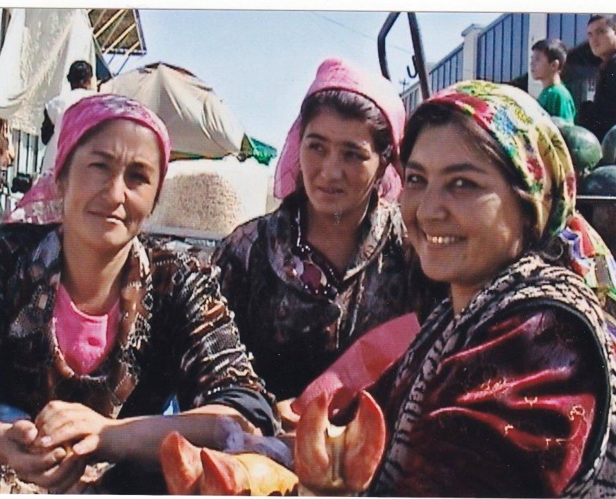 Marktfrauen in Samarkand © Wolfgang Stoephasius