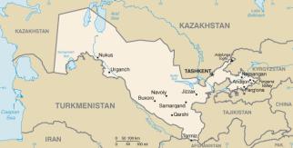 Karte Iran Nachbarlander.Samarkand Landersammler Wolfgang Stoephasius