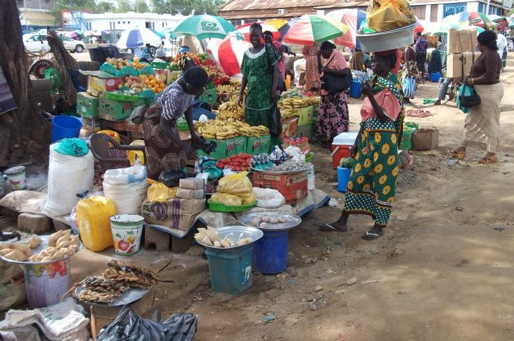 Markt in Juba © Wolfgang Stoephasius
