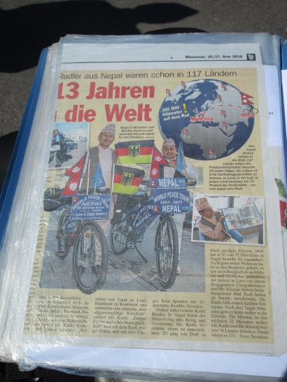 Artikel in der TZ München © Wolfgang Stoephasius